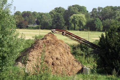 Stinky manure heap