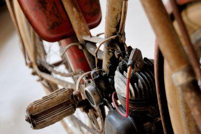 Fahrrad mit Hillfsmotor