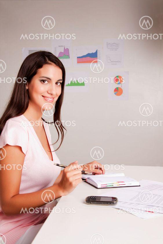Vardagligt affärskvinna