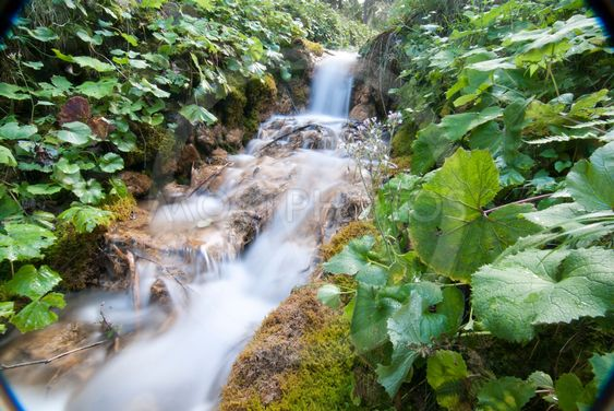 Rinnande vatten, Dolomiterna