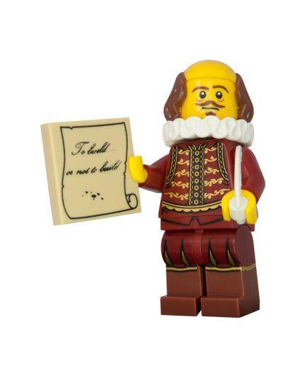 Shakespeare Lego Minifigure
