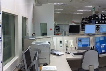 Control center of the factory