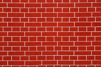 red brick wall
