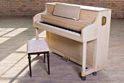 Dusty Piano in Warehouse