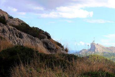 Mallorca landscape view