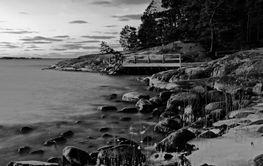 Landscape in the archipelag