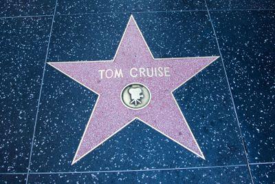 Tom Cruise's Hollywood Star