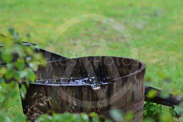 Regnvatten tunna