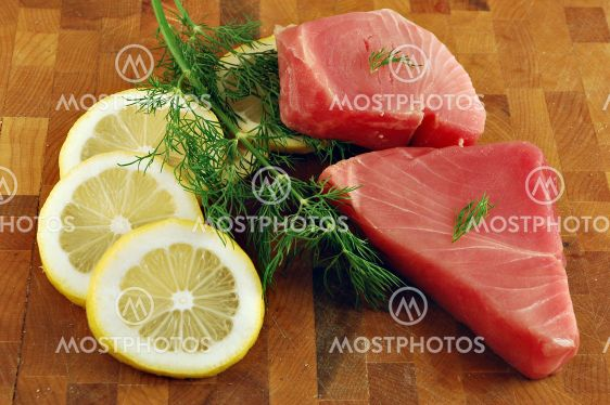 Raw Tuna Steaks