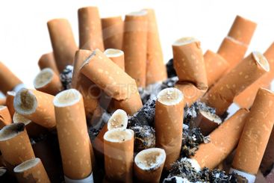 Close up of cigarettes