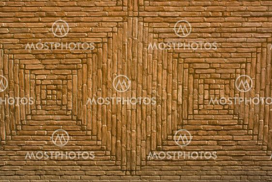 Pattern on a facade