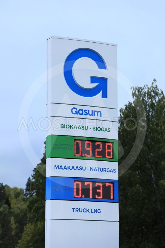 Find Me The Closest Gas Station >> Taina Sohlman N Kuva Gasum Natural Gas Station S