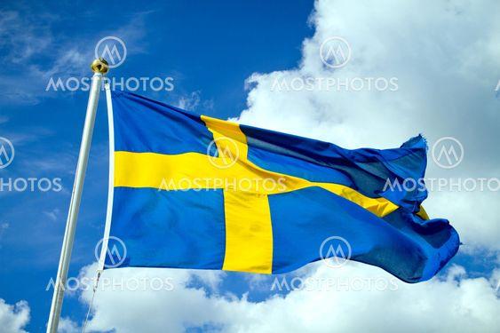 Sweden's Flag 2