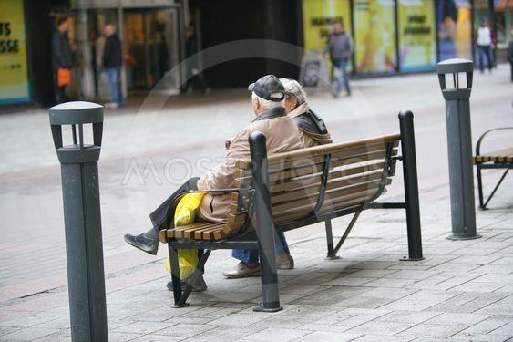 Äldre par i Åbo