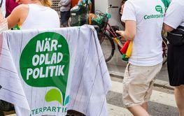 Centerpartiet på Pride 2