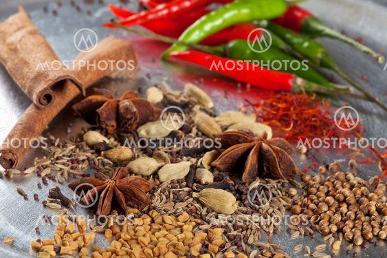 Indiska Kryddor Av Simone Van Den Berg Mostphotos