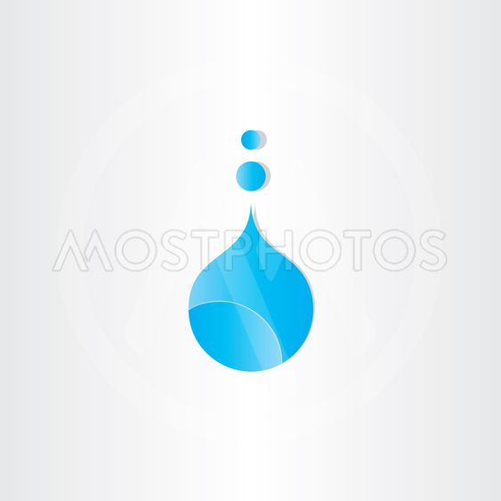 drop of water symbol design