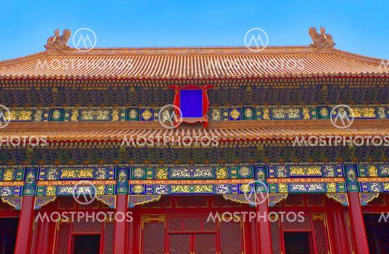 china; beijing, forbidden city
