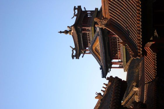 Chinese Roofs