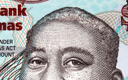 Milo Butler a portrait from Bahamian money