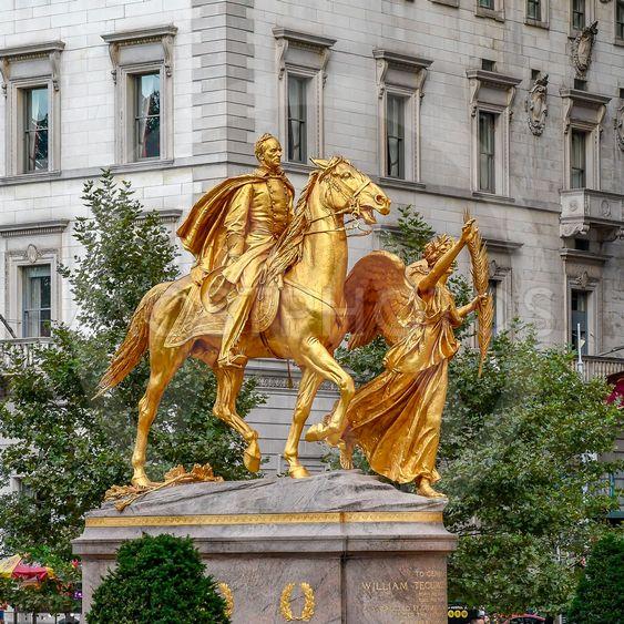 William Tecumseh staty