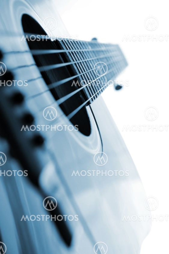 Guitar lukke
