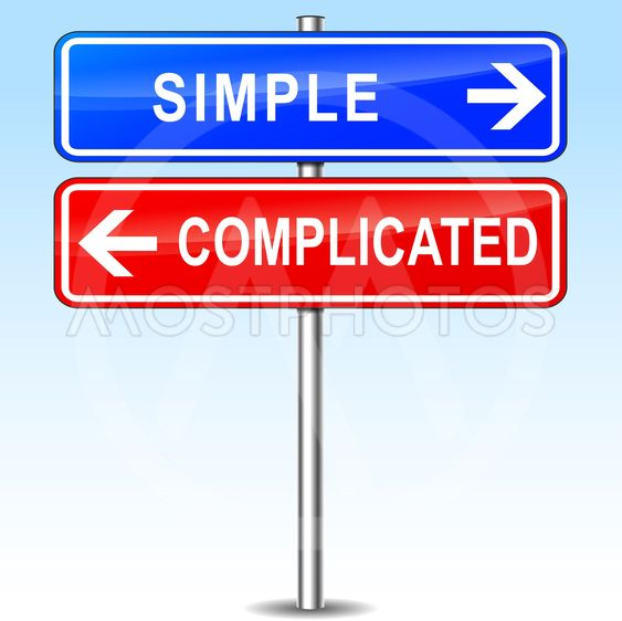 simple or complicated choice