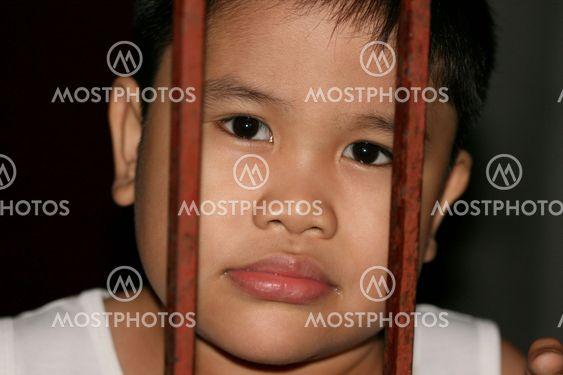 Nuori poika muotokuviin