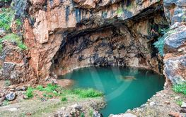 The Grotto of the God Pan in israel