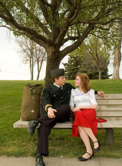 WW2 Couple