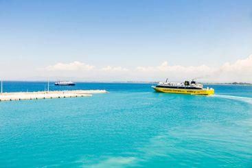 Greece ferry departures