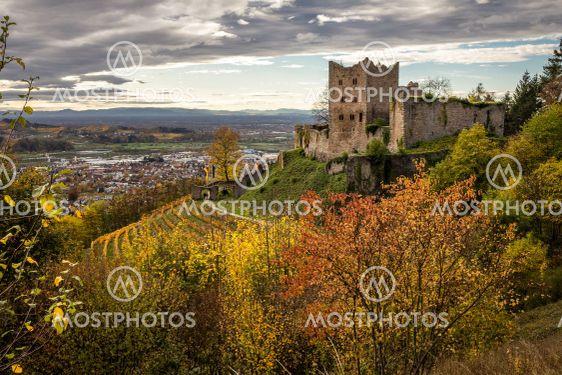 Burg Schauenburg im Herbst