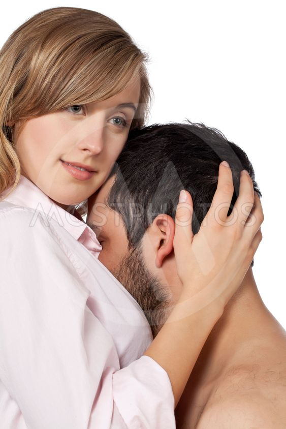 Kissing mans chest woman 20 Signs