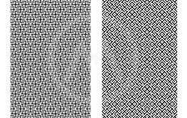 Seamless Chinese line pattern for texture, vector