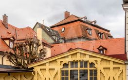 architectural detail  in Bamberg