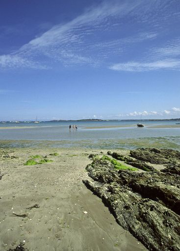 At the beach of St-Cast-le-Guildo