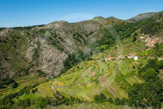 Viewpoit of Sistelo's terraces