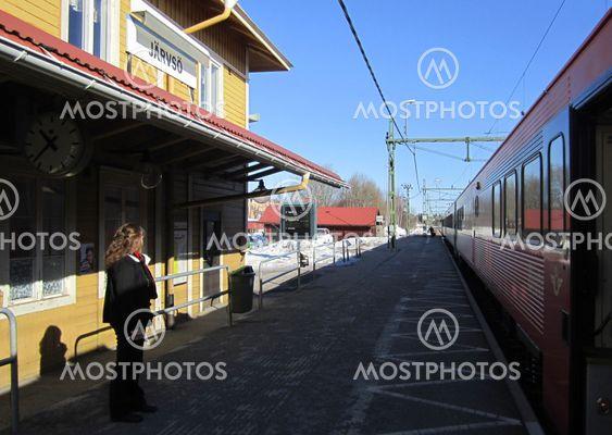 Järvsö train stop