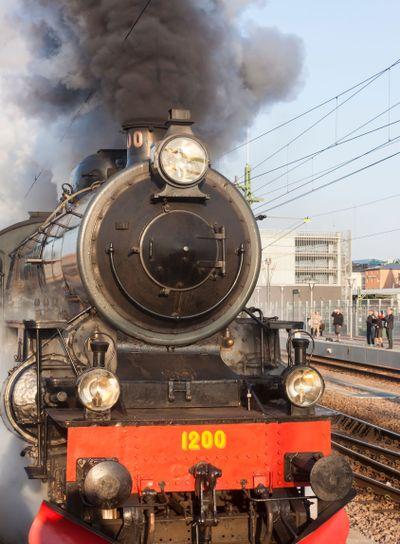 Classic Steam Engine