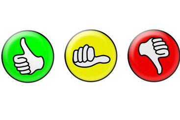 Thumbs icon set