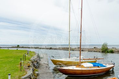 Småbåtshamnen, Råbäck