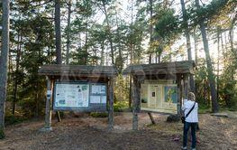Information vid Ramsnäs i Ekopark Böda på Öland