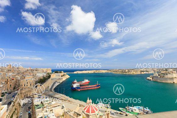 Valletta harbor