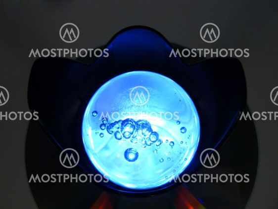 Shone sphere on a disk