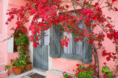 grèce,cyclades,naxos : village d'apiranthos