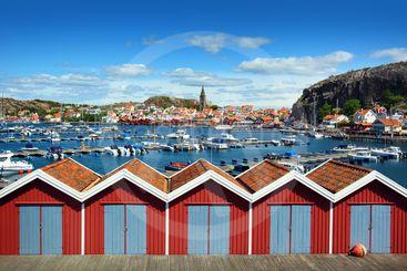 Swedish fishing village Fjällbacka