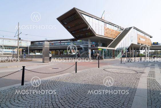 Nye Mölndalsbro-stationsbygning