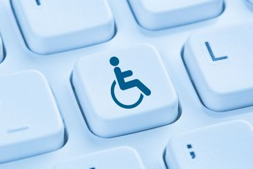 Web accessibility online internet website computer for...