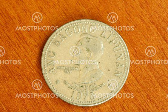 Vintage rare Ferdinand Marcos coin