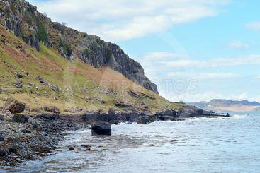 Staffin bay, Isle of Skye, Scotland.